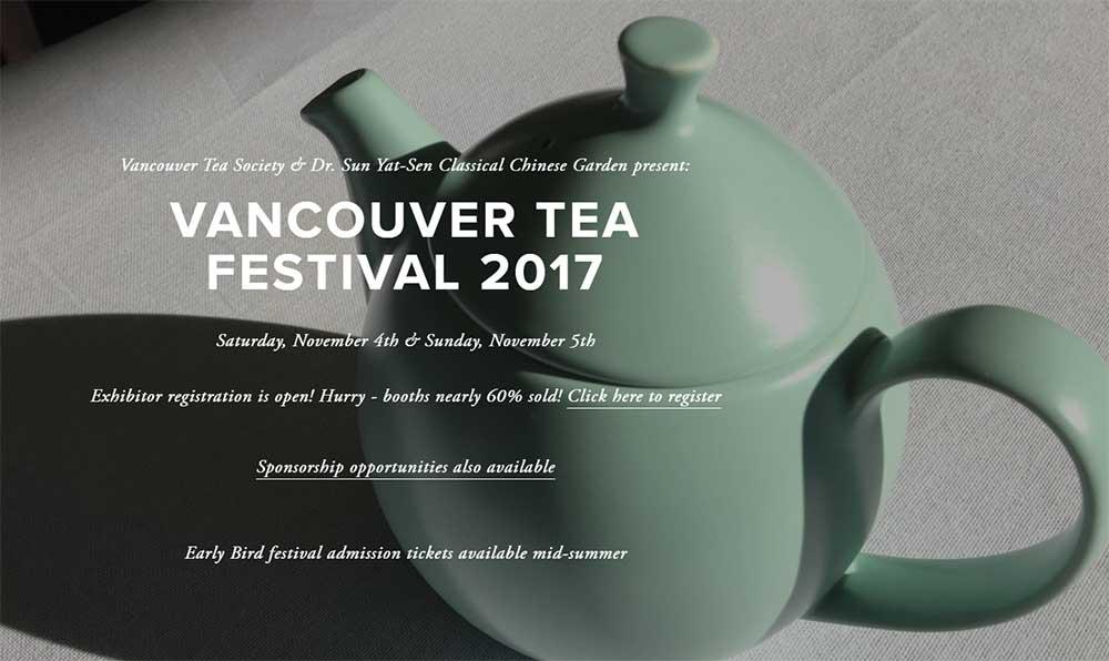 VANCOUVER TEA FESTIVAL 2017