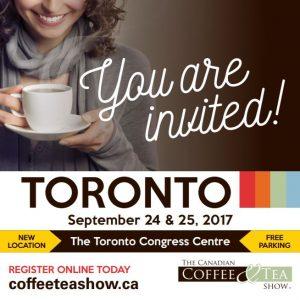 The Canadian Coffee & Tea Show 2017
