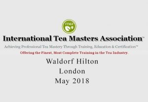 Tea Blending course