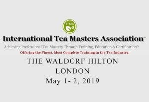 ITMA Tea Sommelier Certification Course - London - May 1 - 2, 2019