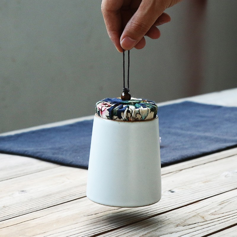 Japanese Style Ceramic Tea Storage Jars