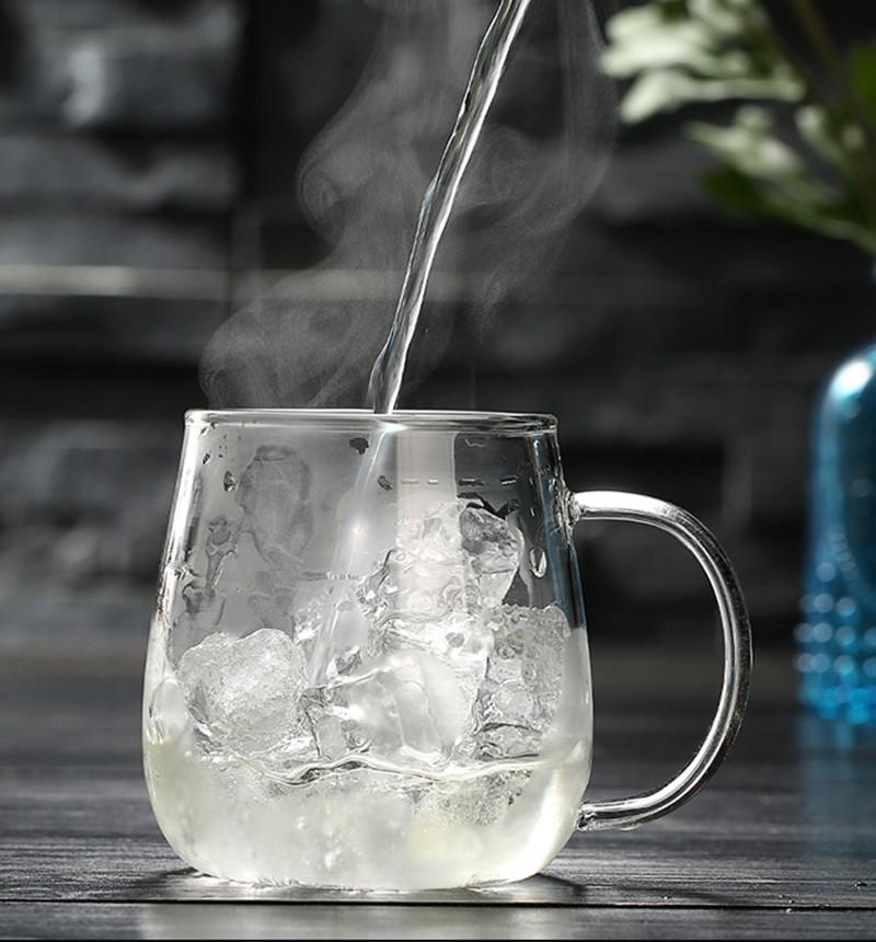 Chinese Style Glass Tea Mug