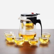 500ML And 6 Tea Cup