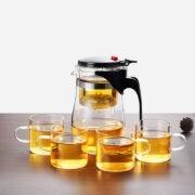 750ML And 4 Tea Cups