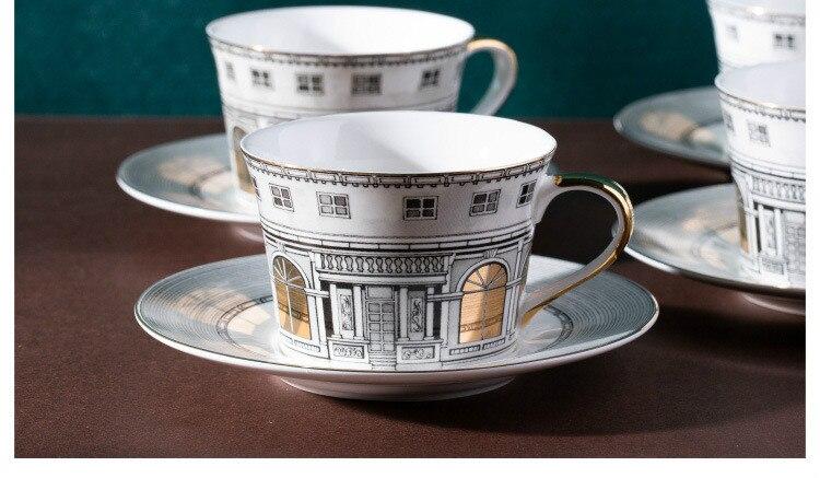 Castle Style Tea Set