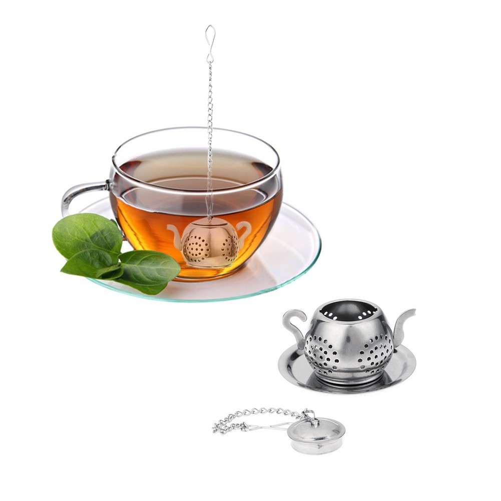 Stainless Steel Teapot Shaped Tea Infuser