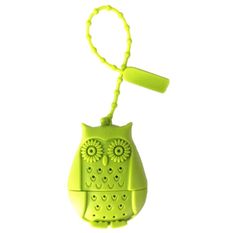 Owl Shaped Silicone Tea Strainer