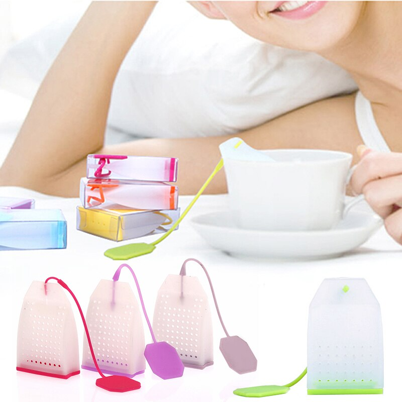 Silicone Strainer in Shape of Tea Bag