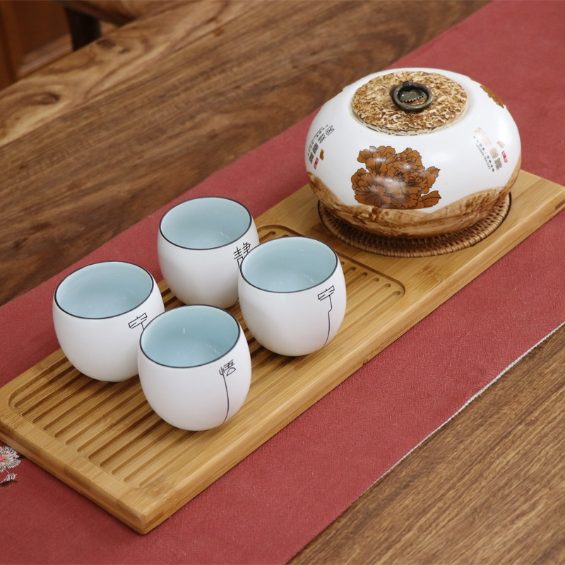 Natural Wooden Tea Trays