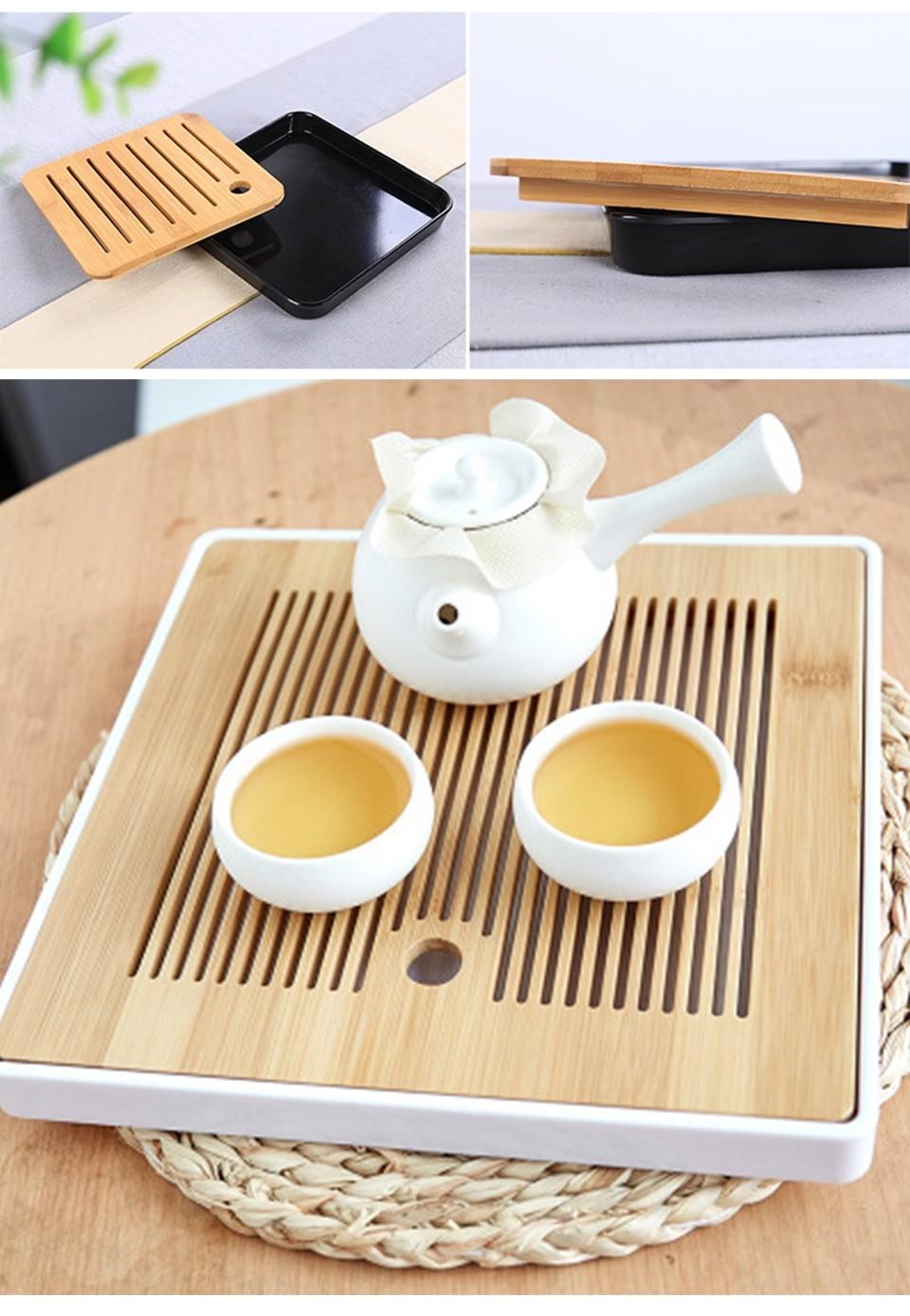 Bamboo Tea Tray Saucer