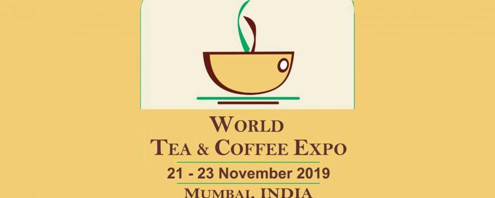 World Tea Coffee Expo to take place at Mumbai November 2019