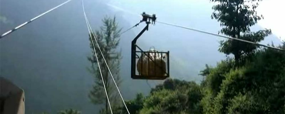 Using Ropeways to transport tea leaves in Kenya – The environmentally healthy way