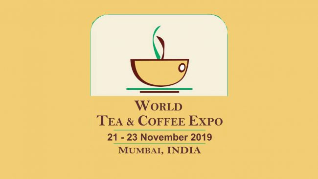 World Tea Coffee Expo to take place at Mumbai November 2019