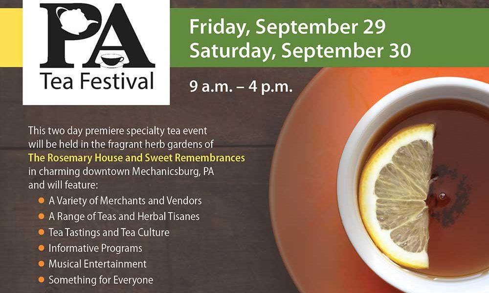 Pennsylvania Tea Festival 2017